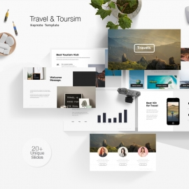 Travel & Toursim Keynote Template