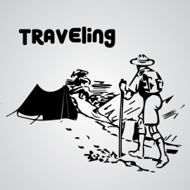 Traveling Vector Design