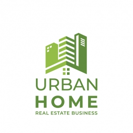 Urban Home Real Estate Logo
