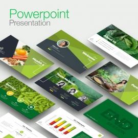 Vagetable Farm Clean Powerpoint Presentation