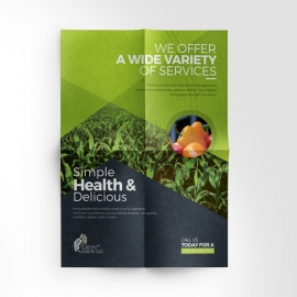Vagetable Farm Flyer Design