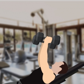 Vector Of Gym