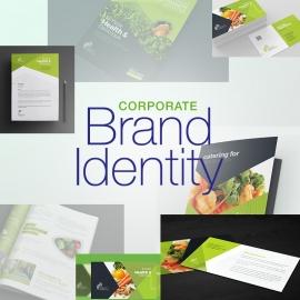 Vegetable Farm Business Branding Identity Mega Pack