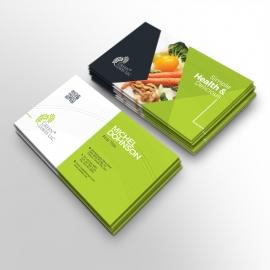 Vegetable Farm Business Card Template