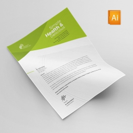 Vegetable Farm Letterhead Design