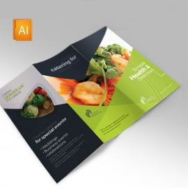 Vegetable Farm Trifold Brochure