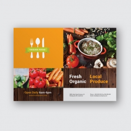 Vegetable Landscape Flyer