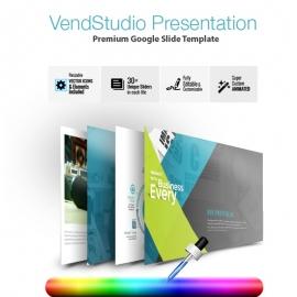 VendStudio Google Slide Presentation Template
