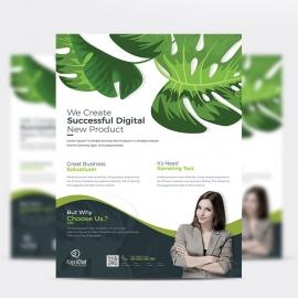 WaterColor Creative Business Flyer