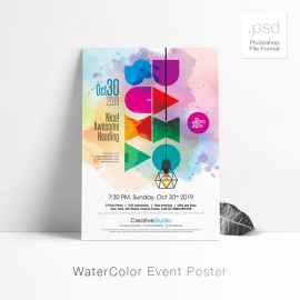 Watercolor Event Poster / Flyer