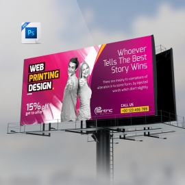 Web Paintinc Billboard Banner