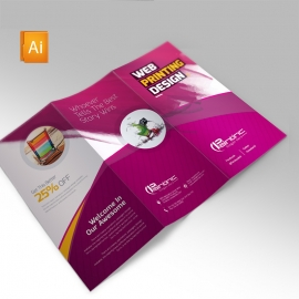 Web Paintinc Trifold Brochure