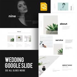 Wedding Google Slide Template