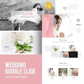 Wedding Google Slide Template 2