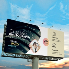 Wedding Photography Billboard Banner