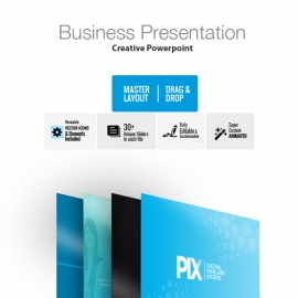White Pix Powerpoint Presentation
