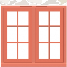 Wooden Doors Vector Design
