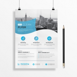 Winer Business Flyer