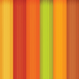 Wooden background with different colorful design
