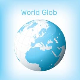 World Glob Vector Design
