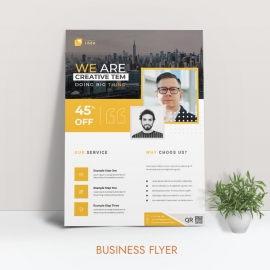 Yellow Business Flyer