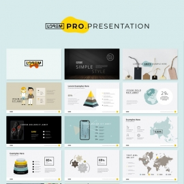 Yellow Presentation Layout