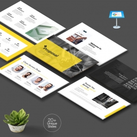 Yellow Proposal Keynote Template