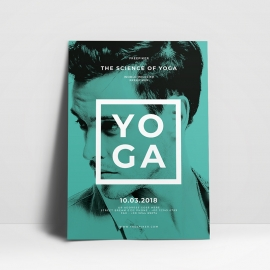 YOGA Creative Clean Flyer Template